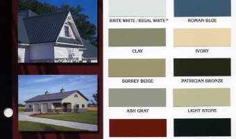 Residential Metal Roofing Colors Mcelroy Metal