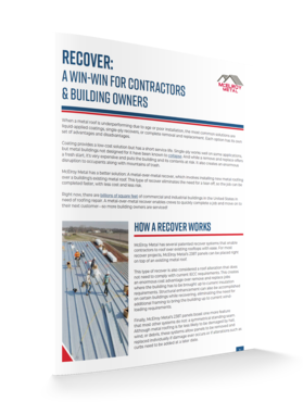 3D Cover - Recover A Win-Win for Contractors & Building Owners