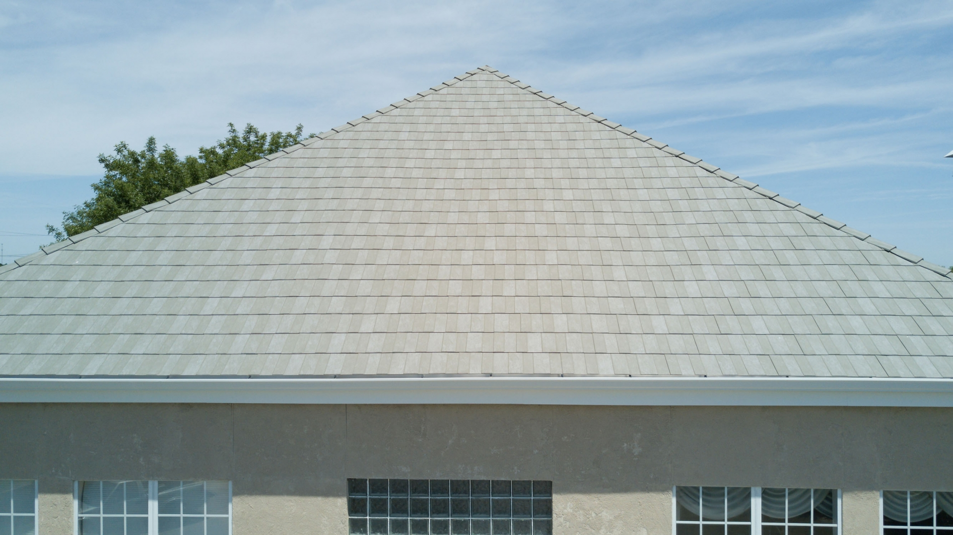 Green Slate Metal Roofing