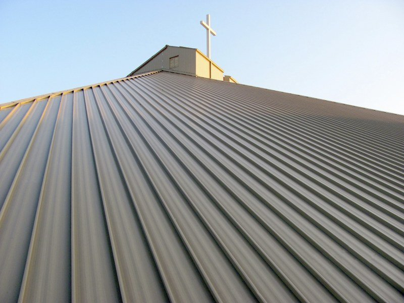 138T & 238T Standing Seam System on Church