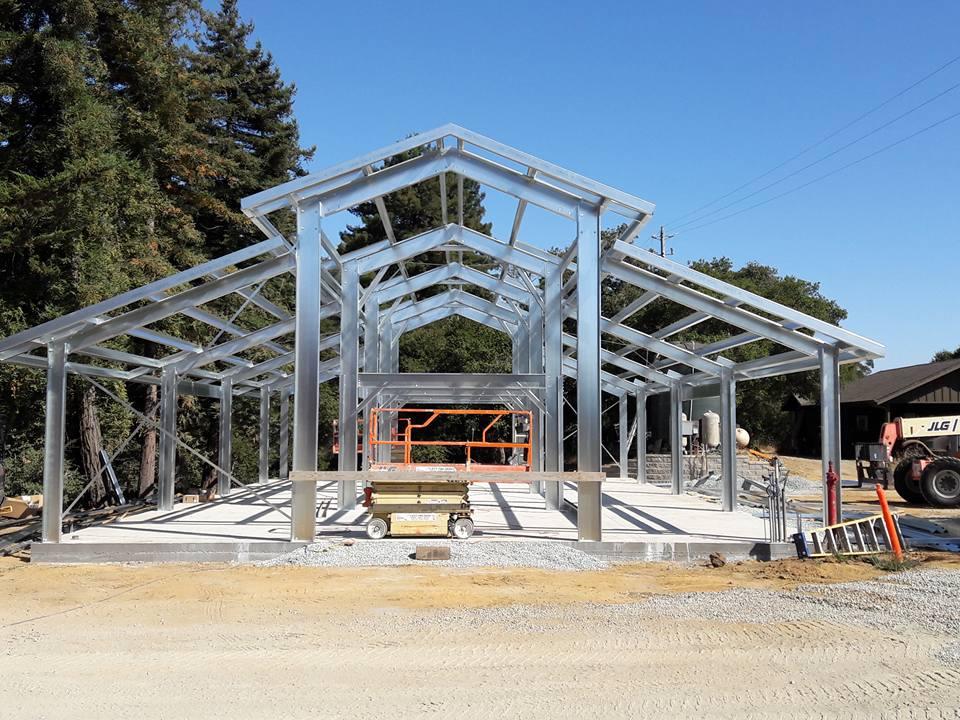 Cold Formed Building Exterior Frame 3