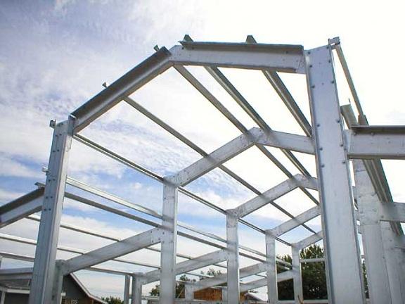 Cold Formed building Exterior Frame 4