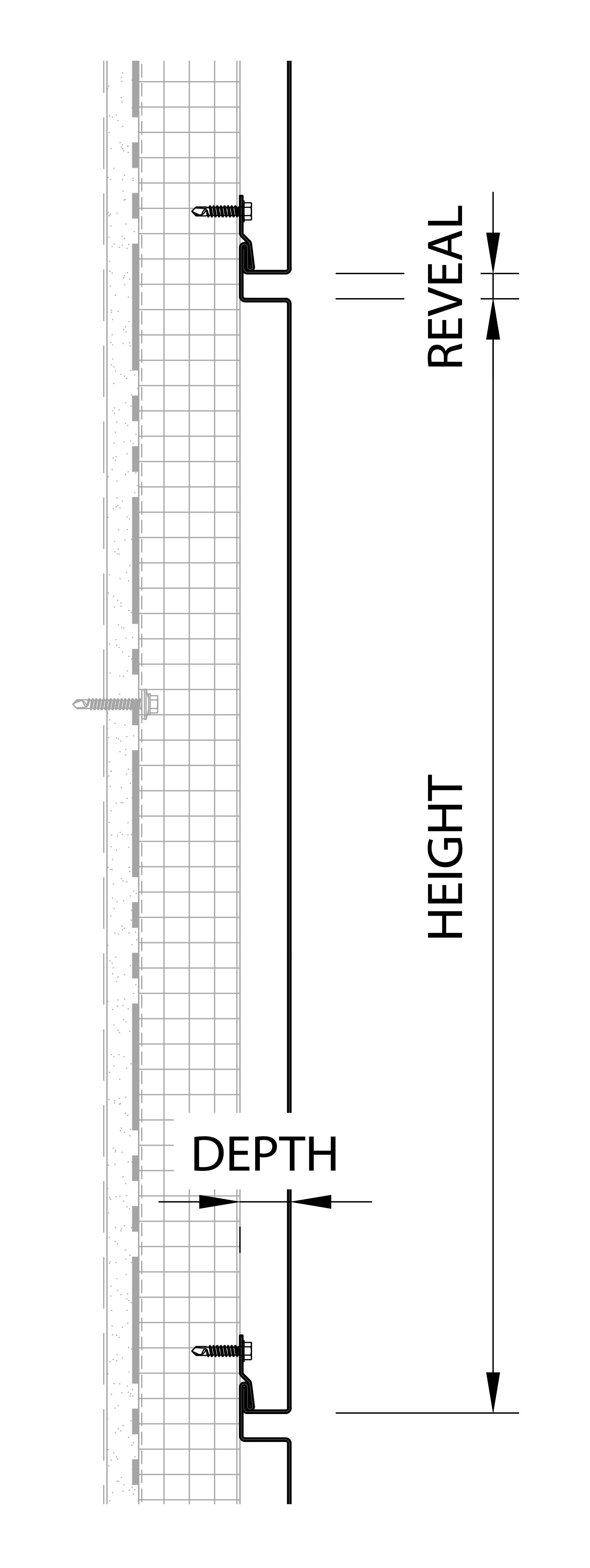 F-Series - Vertical Detail