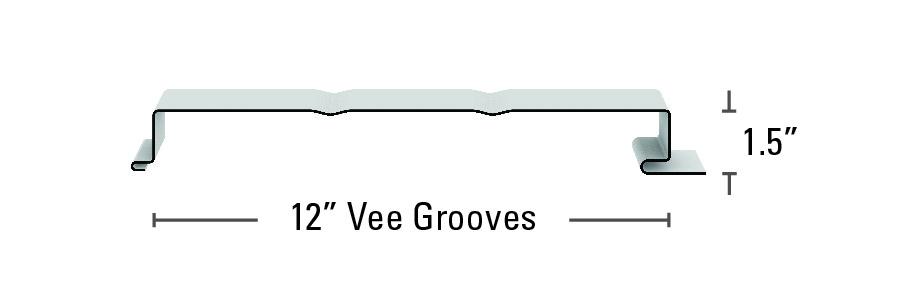 FW Panel Vee Grooves