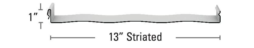 Instaloc Striated