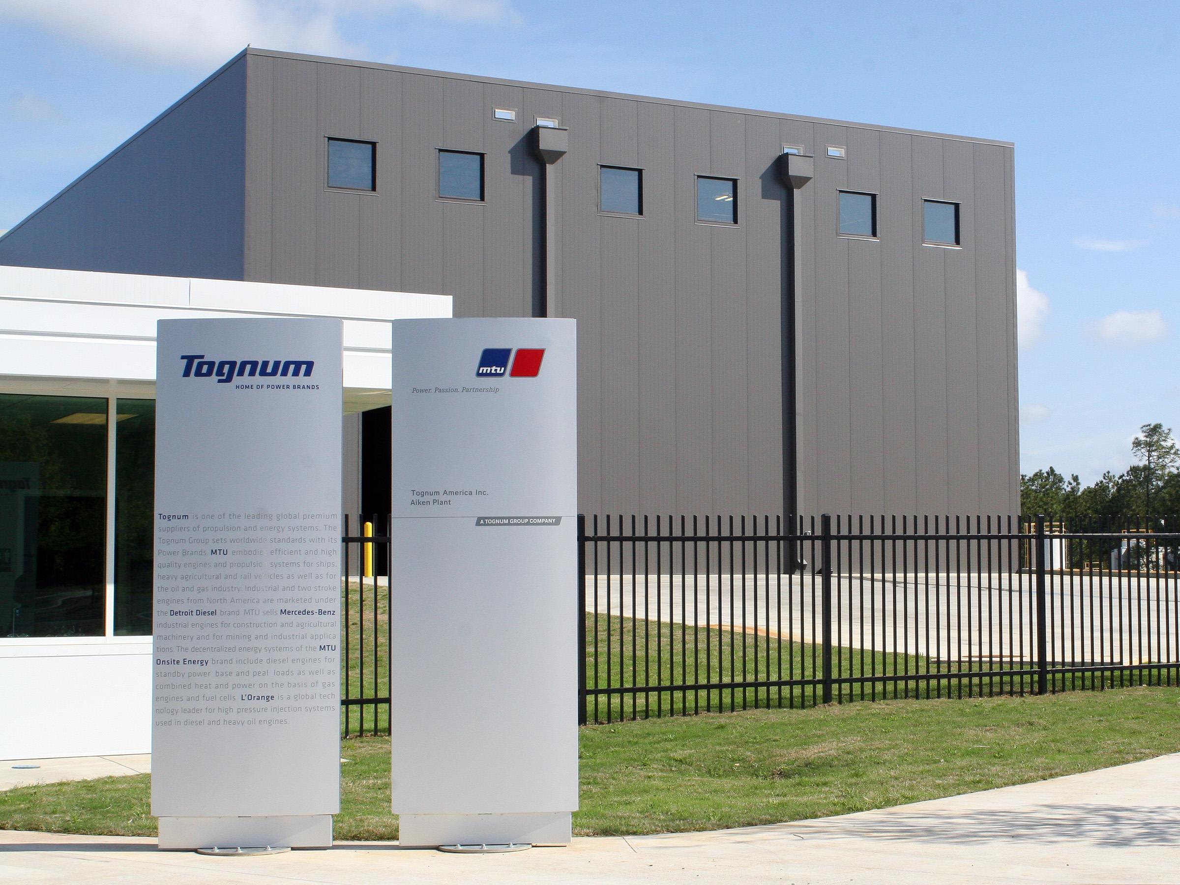 MTU-Aiken Plant