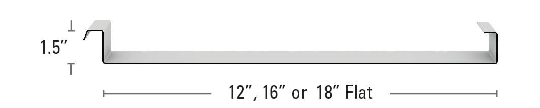 "Maxima 1.5"" Flat"
