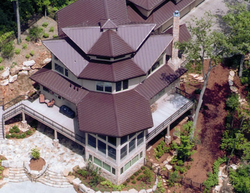 Medallion-Lok Standing Seam Roofing System Installed-1