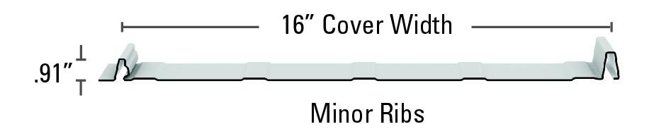 "16"" Meridian Minor Ribs"