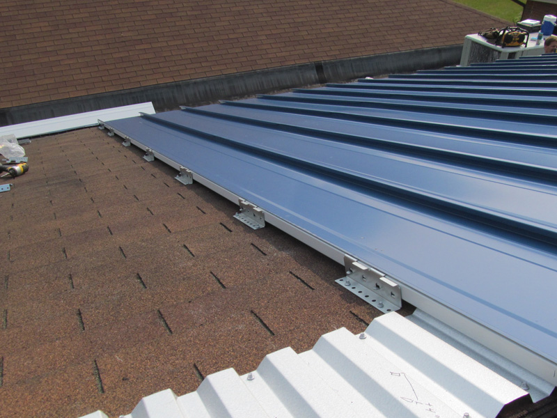 How To Install Metal Roofing Over Shingles Or An Existing Metal Roof