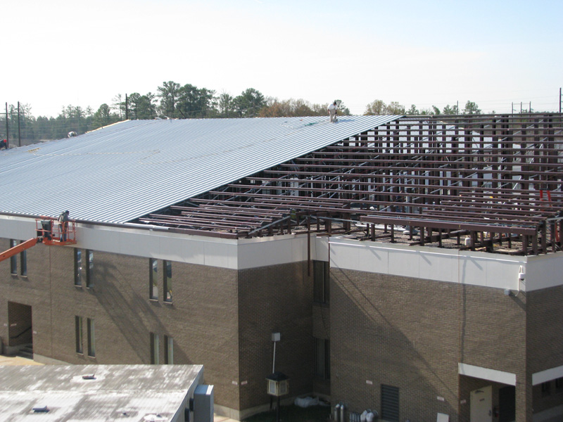 Metal Roof Structure - Metal Roof Support Structure | McElroy Metal