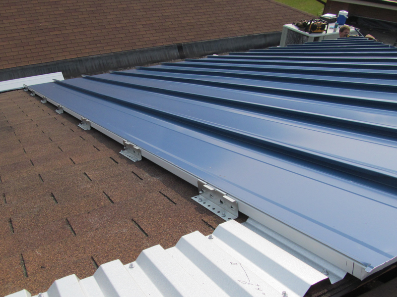Retrofit Metal Roof Systems Amp Reroofing With Metal